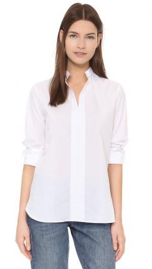 Рубашка-туника Mary Marie Marot. Цвет: белый