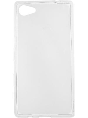 Sony Xperia Z5 Compact silicone skinBOX. Цвет: прозрачный
