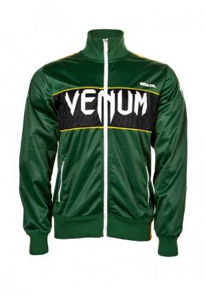 Олимпийка Venum. Цвет: зеленый