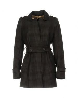 Пальто 6267. Цвет: темно-коричневый