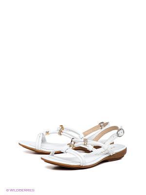 Босоножки Felina shoes. Цвет: белый