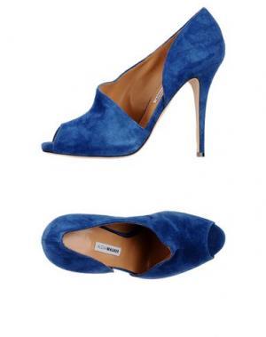 Туфли ALEXA WAGNER. Цвет: синий