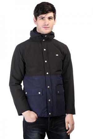 Куртка  Anderson Black Fourstar. Цвет: черный,синий