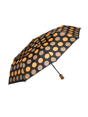 Зонт автоматический Mitya Veselkov. Цвет: оранжевый