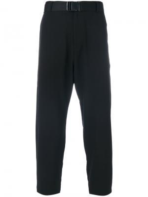 Укороченные брюки D.Gnak. Цвет: чёрный