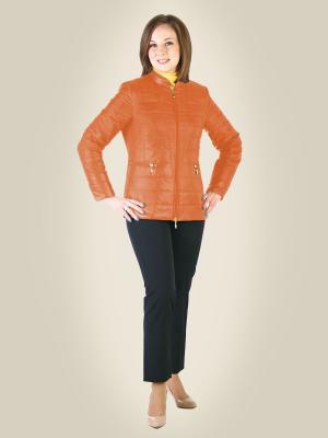 Куртка KANKAMA. Цвет: оранжевый