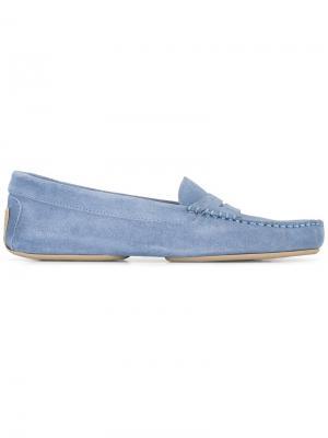 Классические лоферы Pretty Loafers. Цвет: синий