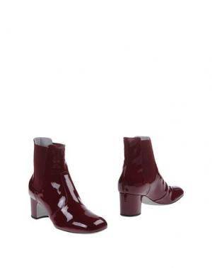 Полусапоги и высокие ботинки RAYNE. Цвет: красно-коричневый