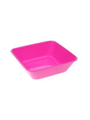 Салатник, 0,5 л. Migura. Цвет: розовый