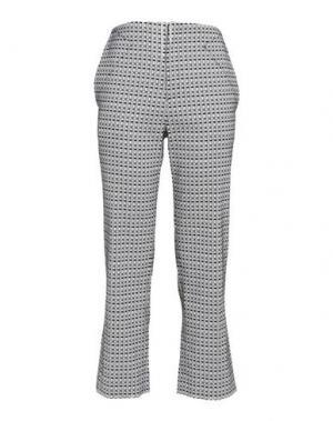 Повседневные брюки ROLAND MOURET. Цвет: светло-серый