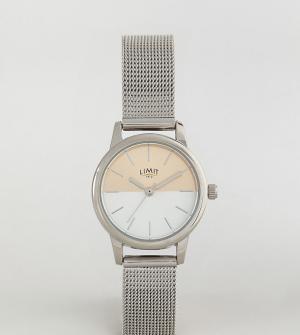 Limit Серебристые часы эксклюзивно для ASOS. Цвет: серебряный
