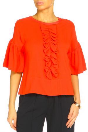 Блуза ZHOR&NEMA. Цвет: коралловый