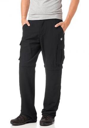 Функциональные брюки, Polarino. Цвет: чёрный
