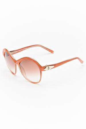 Очки солнцезащитные Lucia Valdi. Цвет: персиковый