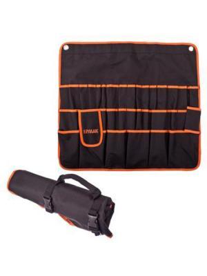 Раскладка для инструмента Ермак. Цвет: черный, оранжевый