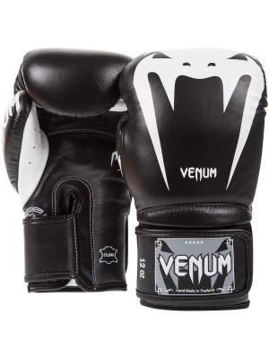 Перчатки боксерские Venum Giant 3.0 Black Nappa Leather. Цвет: черный