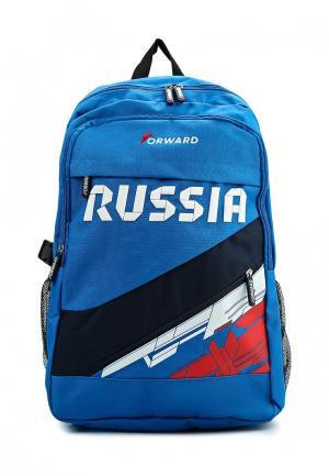 Рюкзак Forward. Цвет: голубой