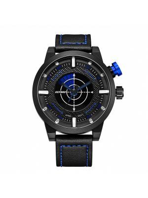 Часы GEPARD.. Цвет: синий, черный