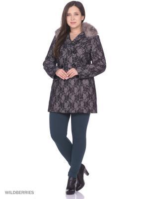 Пальто SUCCESS. Цвет: серый, черный