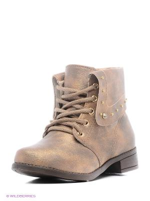 Ботинки Klin. Цвет: бронзовый