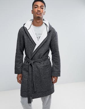 Calvin Klein Халат. Цвет: черный