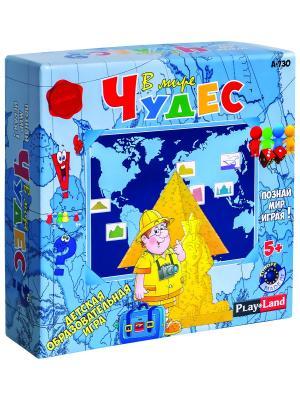 Настольная игра В мите чудес PLAY LAND. Цвет: бежевый, белый, бирюзовый, голубой, желтый, зеленый, золотистый, индиго, коралловый, красный, кремовый, лазурный, лиловый, серый, черный