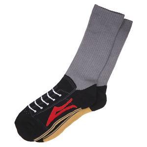 Носки высокие  Brea Grey Lakai. Цвет: серый,желтый,черный