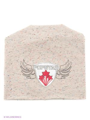 Шапка Fido. Цвет: кремовый, бледно-розовый