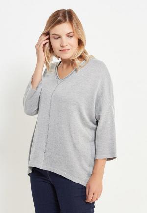 Пуловер Modis. Цвет: серый
