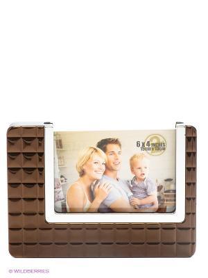 Фоторамка Bronze tile VELD-CO. Цвет: коричневый