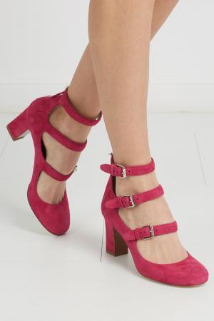 Замшевые туфли Ginger Kidsuede Tabitha Simmons. Цвет: фуксия