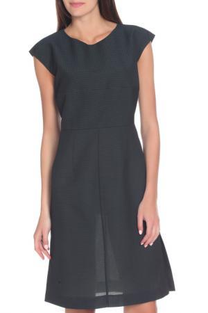 Свободное платье с рукавом Крылышко Marni. Цвет: темно-зеленый