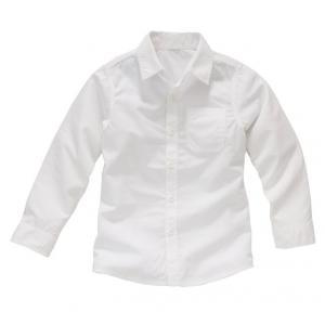 Рубашка, 3-12 лет R édition. Цвет: белый