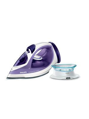 Беспроводной паровой утюг Philips EasySpeed Plus Cordless GC2088/30. Цвет: фиолетовый, белый