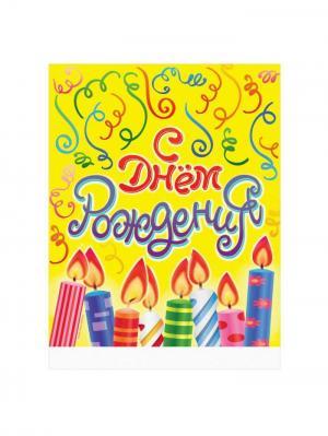 Скатерть праздничная А М Дизайн. Цвет: темно-фиолетовый, желтый, красный