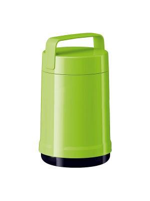 Термос EMSA ROCKET для еды 1.4л (2конт) зел 514536. Цвет: зеленый
