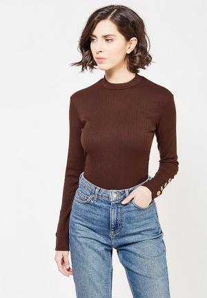 Боди TrendyAngel. Цвет: коричневый