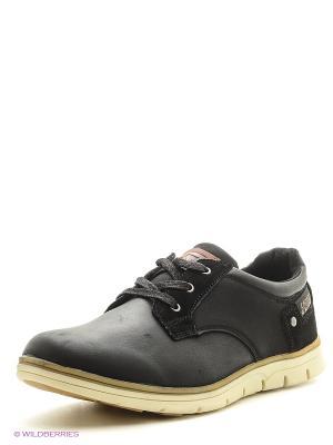 Ботинки Crosby. Цвет: черный