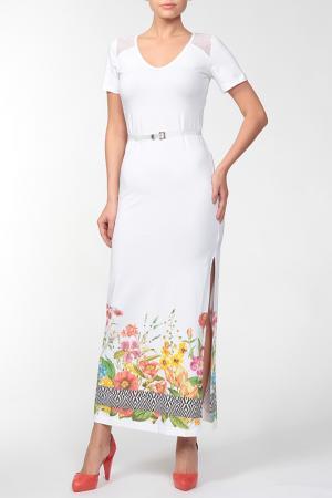 Платье Burani. Цвет: белый
