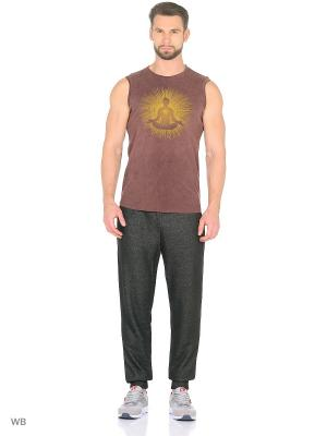 Майка yogadress. Цвет: коричневый