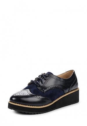 Ботинки Coco Perla. Цвет: синий