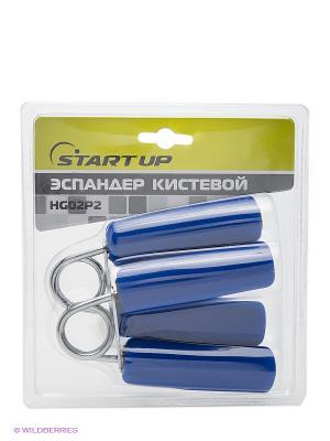 Эспандер кистевой Start Up. Цвет: серый, синий