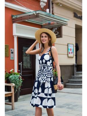 Платье-сарфан в горох DEMURYA CONCEPT
