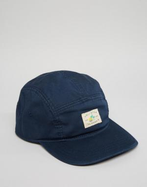 Hollister 5-панельная кепка. Цвет: темно-синий