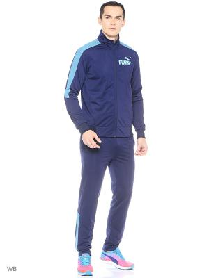 Костюм спортивный  T7 Graphic Tricot Suit op Puma. Цвет: синий