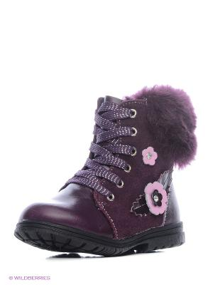 Ботинки Kari. Цвет: фиолетовый