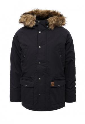 Куртка утепленная Carhartt. Цвет: синий