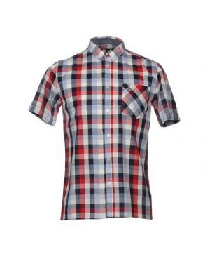 Pубашка MERC. Цвет: красный