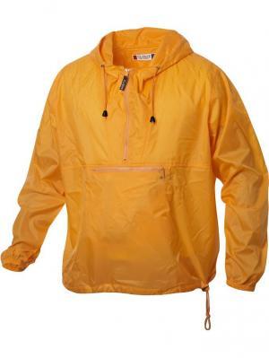 Куртка анорак Clique. Цвет: рыжий
