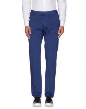 Повседневные брюки OFFICINA 36. Цвет: грифельно-синий